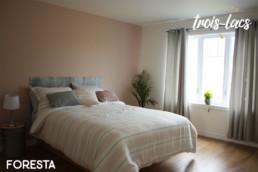 Chalets Trois-Lacs Foresta chambre